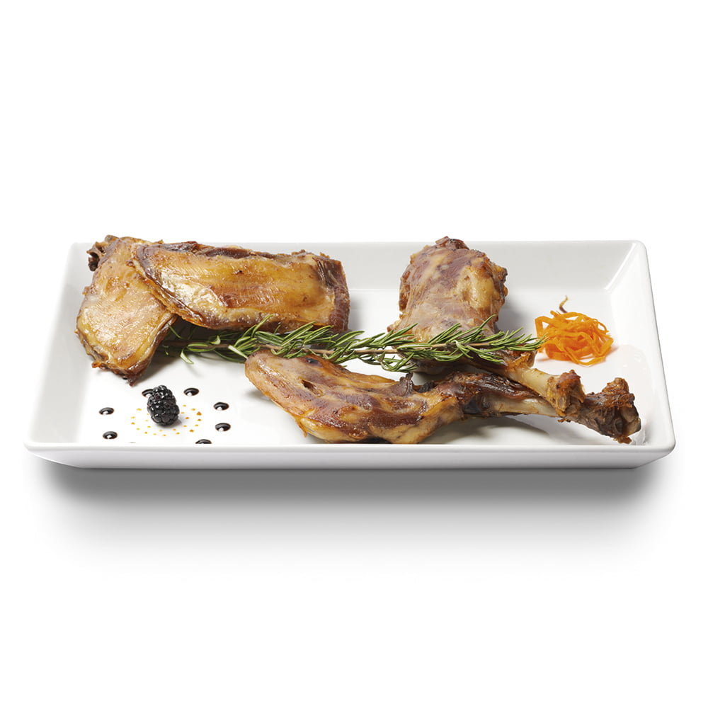plato gourmet de carne de cabrito