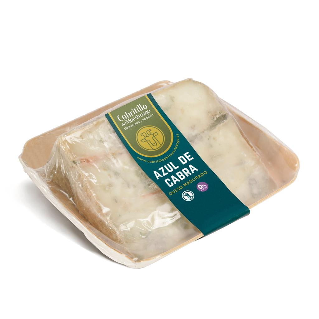 queso azul de cabra artesano