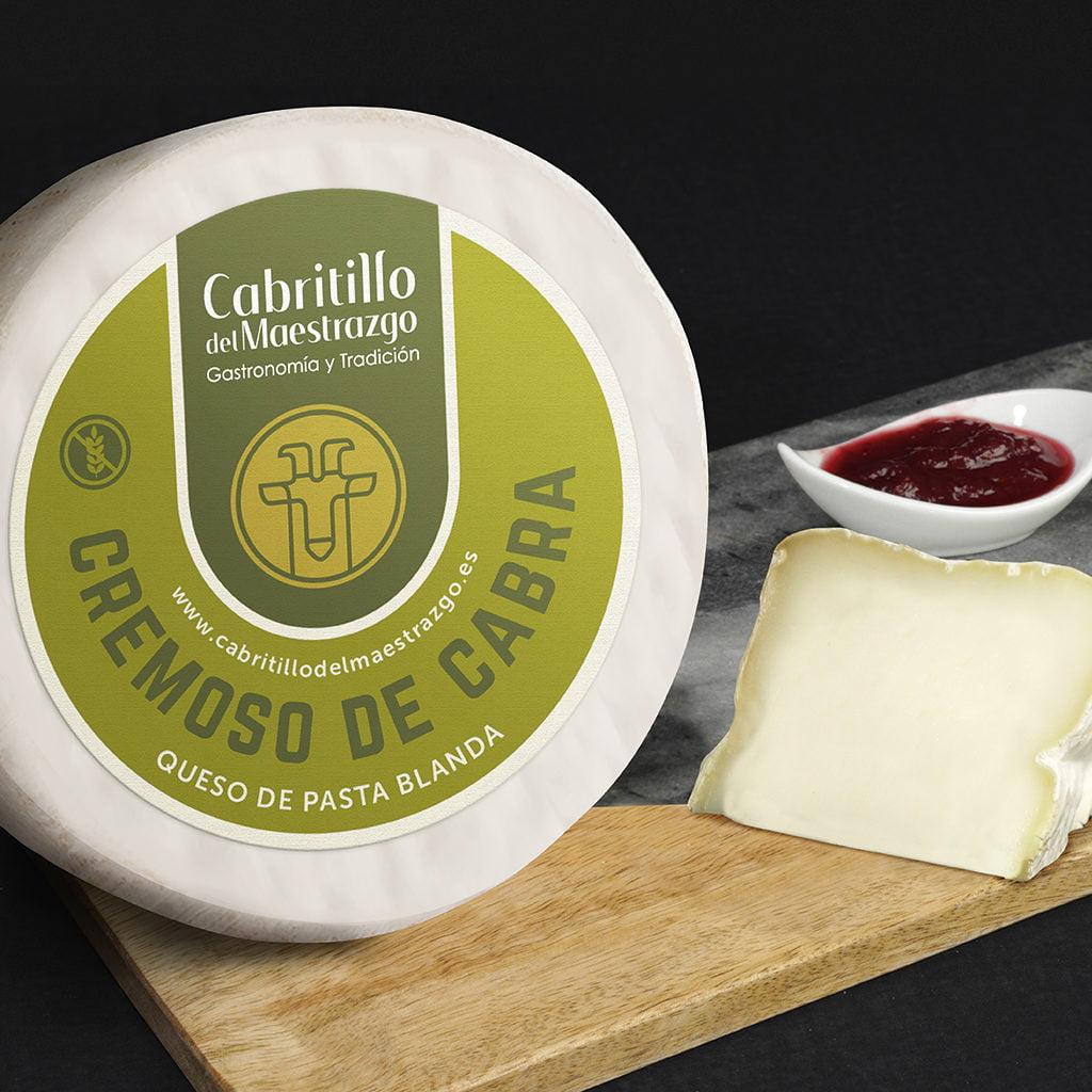queso cremoso de cabra gourmet