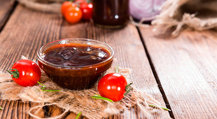 Cabritillo con salsa barbacoa