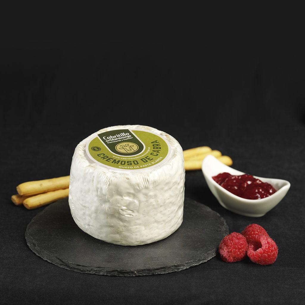 queso cremoso de cabra sin gluten