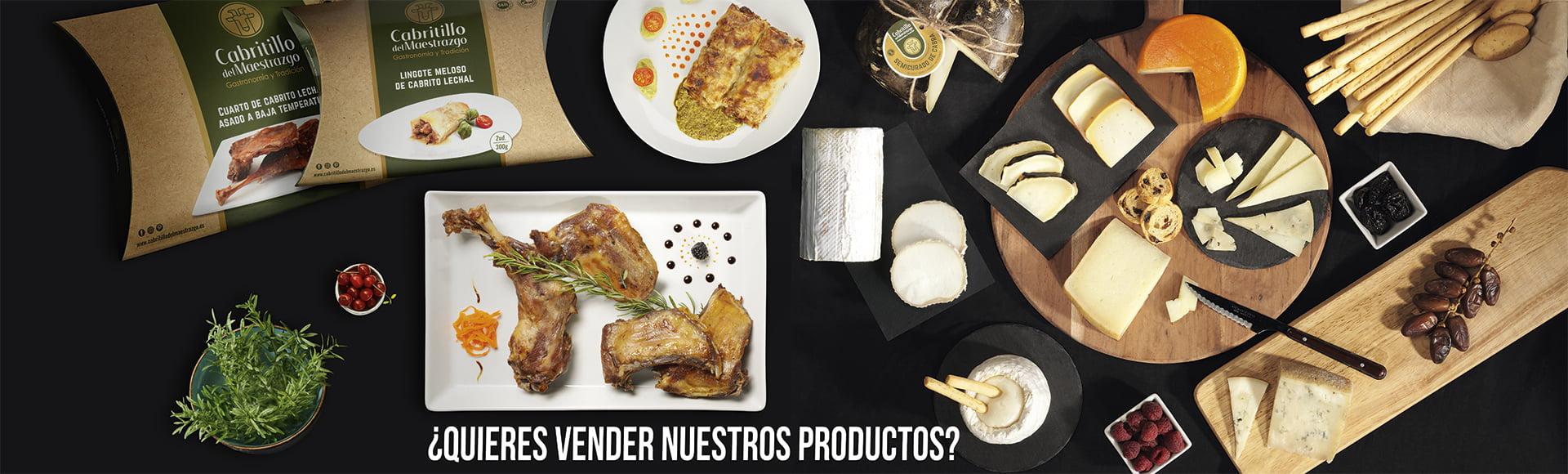 ¿Quieres vender nuestros productos en tu restaurante?
