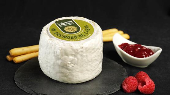 queso de cabra cremoso gourmet